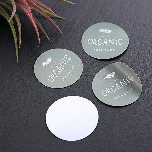 圓形貼紙防水貼紙紙盒貼紙