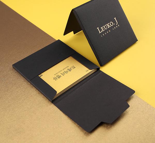 黑質感保證卡信封