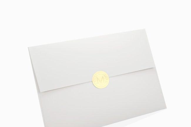 質感邀請卡信封