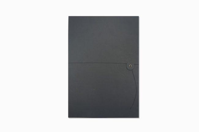 A4黑質感資料夾