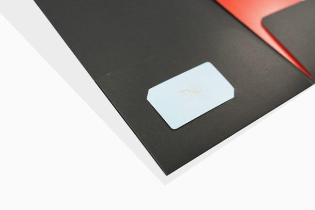 企業黑色質感資料夾