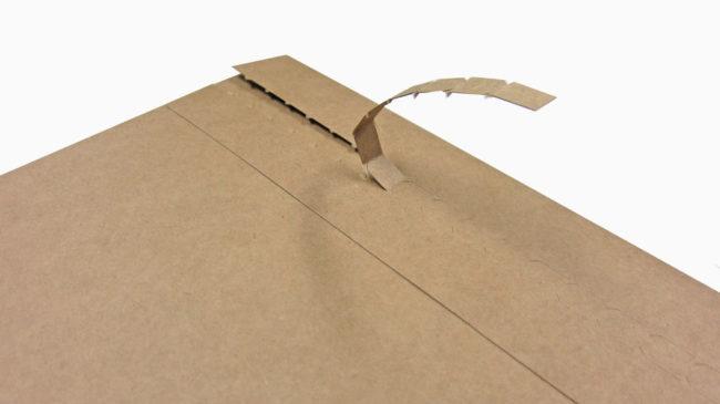 撕線牛皮包裝盒