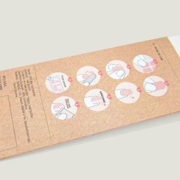 美甲信封產品包裝